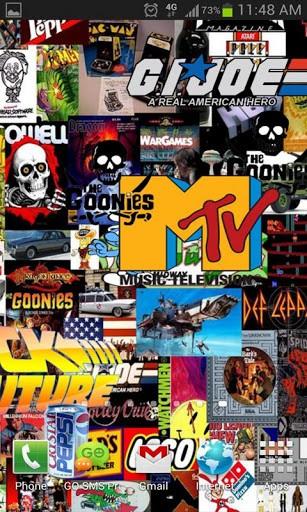 i love the 80s wallpaper - photo #26