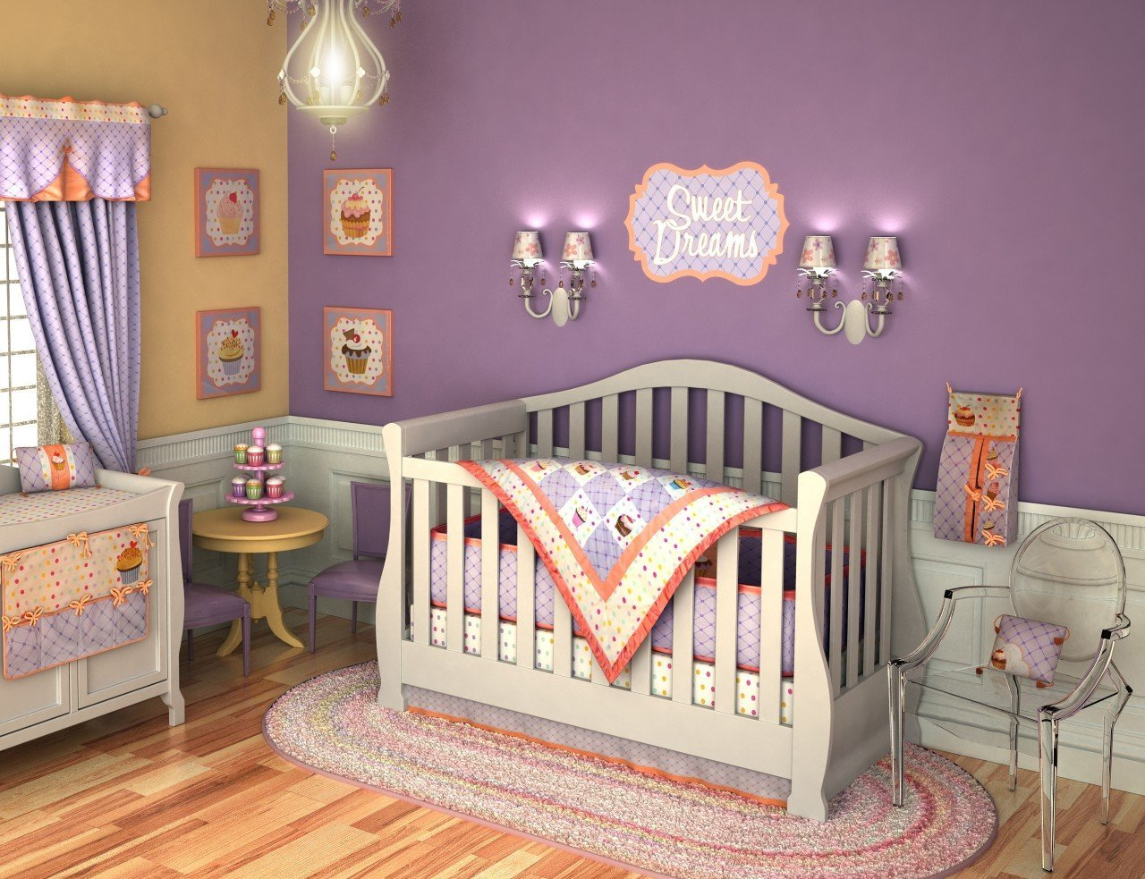 Girl Nursery Bedding 7959 Wallpapers Baby HD Wallpaper and 1280x983