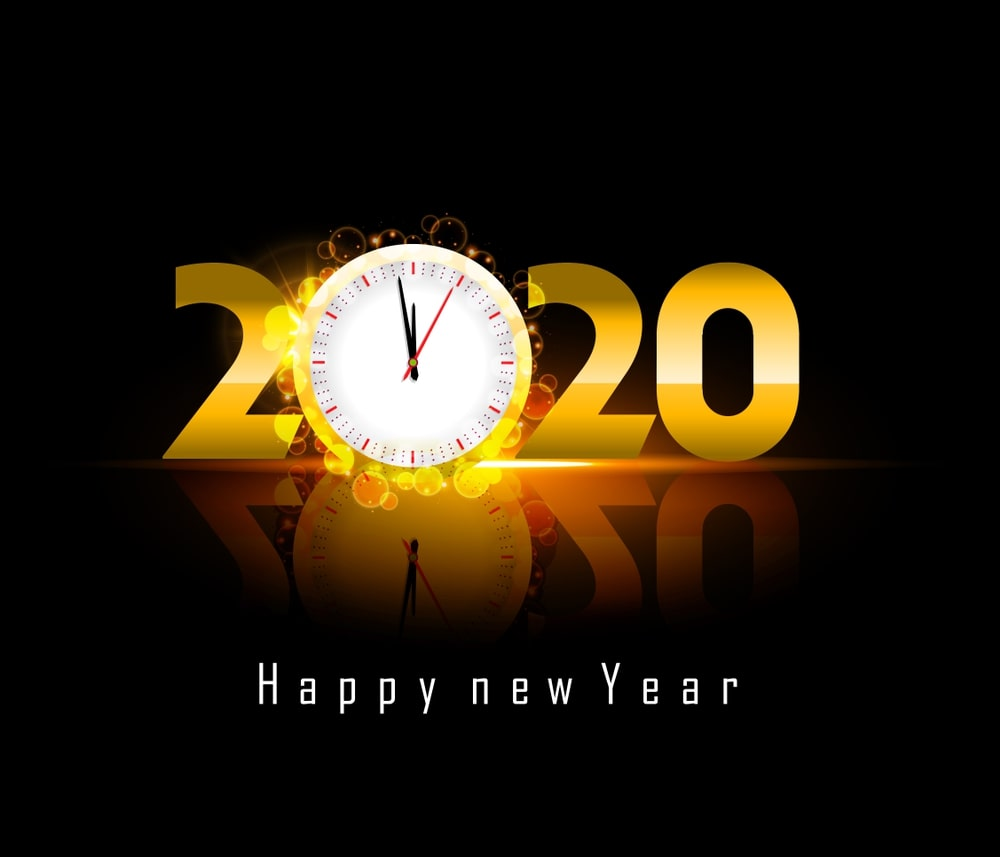 Happy New Year 2020 Images Wallpapers   POETRY CLUB 1000x857