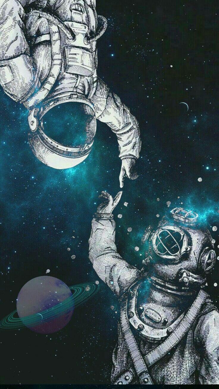 Astronaut Wallpapers KZ7553T 736x1309 Wallperiocom 736x1309
