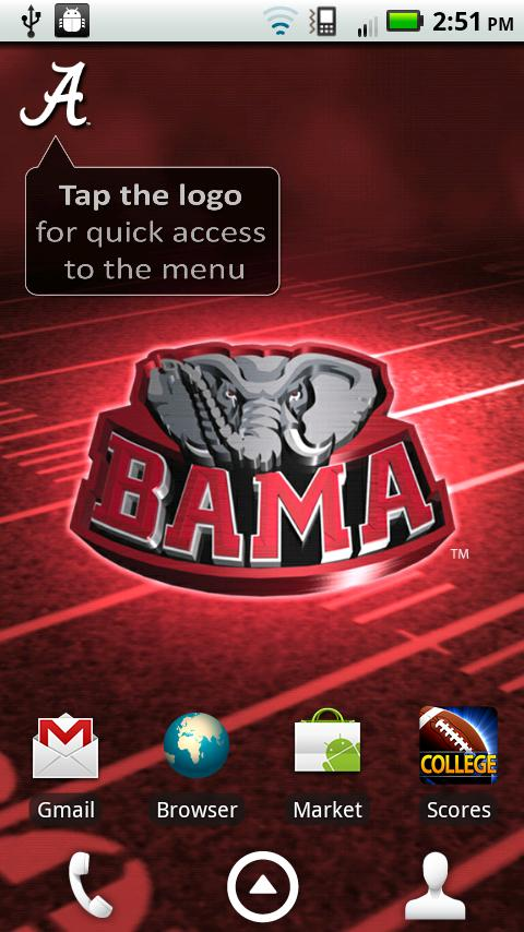 Alabama Revolving Wallpaper   Android Apps on Google Play 480x854