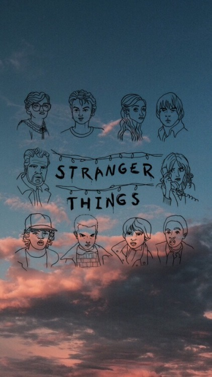 stranger things wallpapers Tumblr 422x750