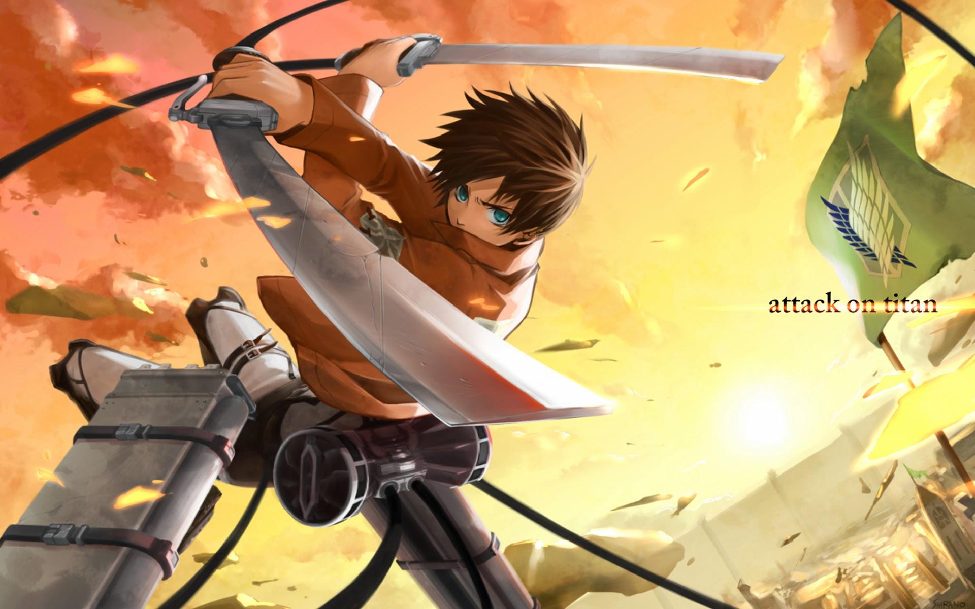 Kumpulan Gambar Anime Attack On Titan Eren Terkini Eye Candy Photograph