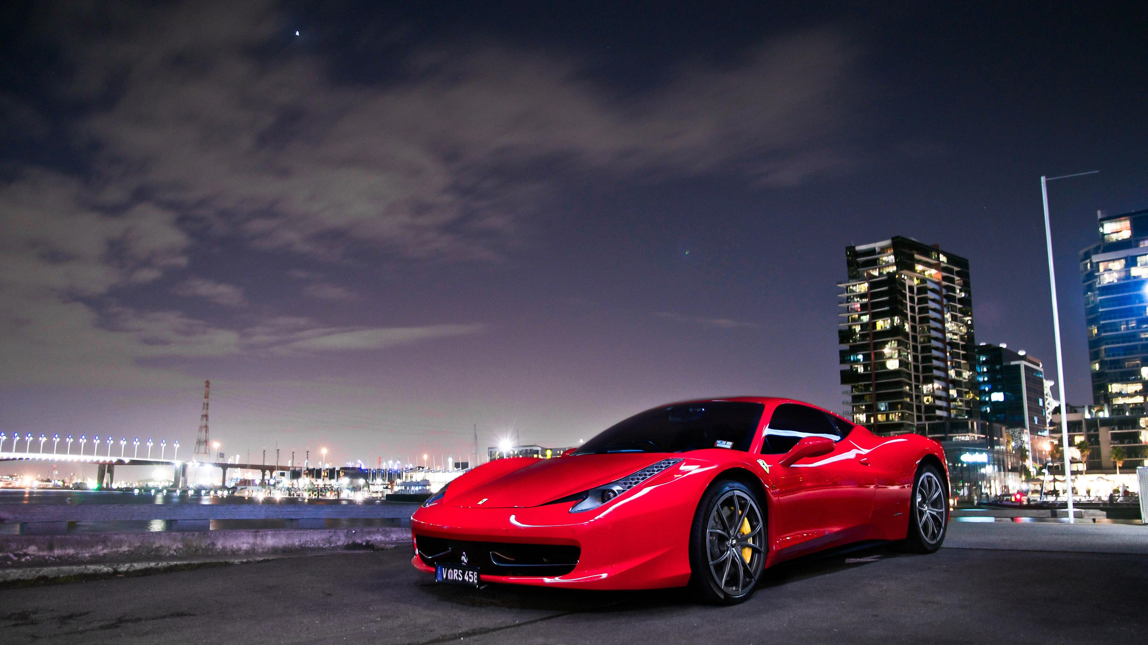 Ferrari 458 Italia wallpaper 33423 3840x2160