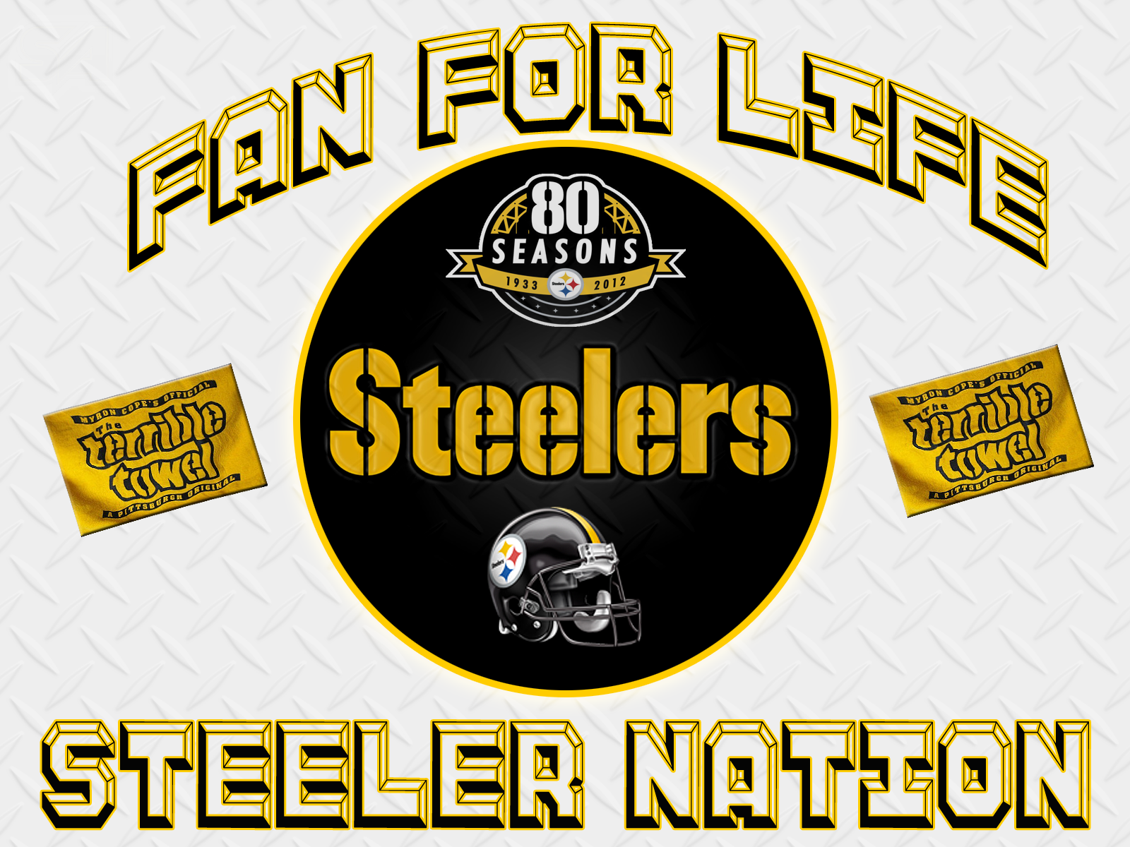 New Antonio Brown and SteelerNation wallpaper 1600x1200