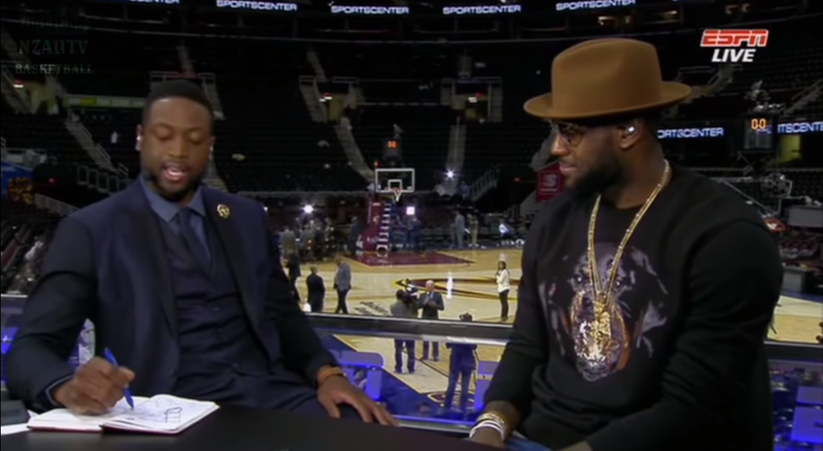 Dwyane Wade Interviews LeBron James After Game 3 Win VIDEO 1153x632