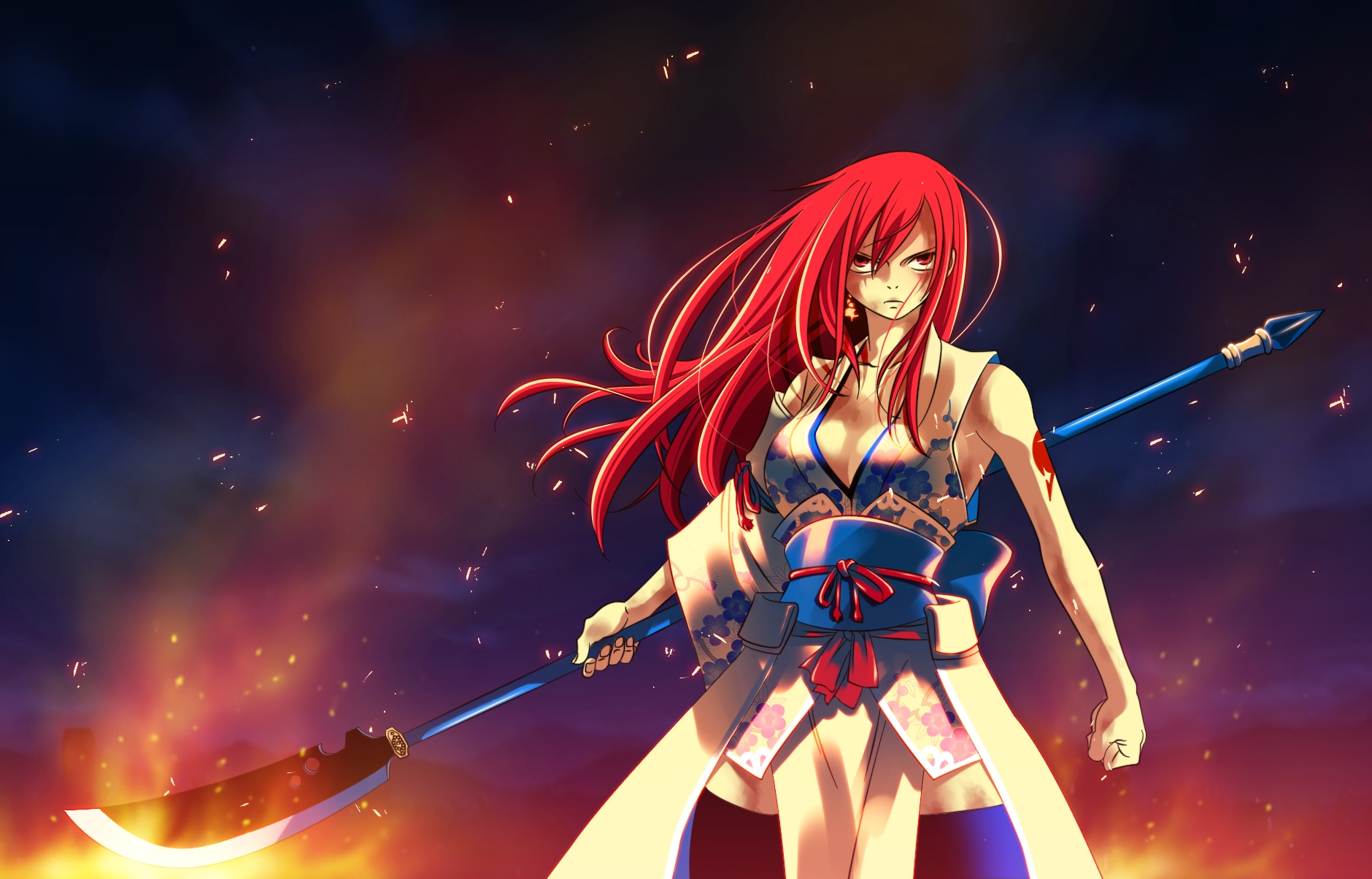 46 Erza Scarlet Wallpaper Hd On Wallpapersafari Find gifs with the latest and newest hashtags! 46 erza scarlet wallpaper hd on