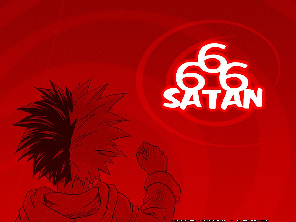 download HD 666 Satan wallpaper 1024x768