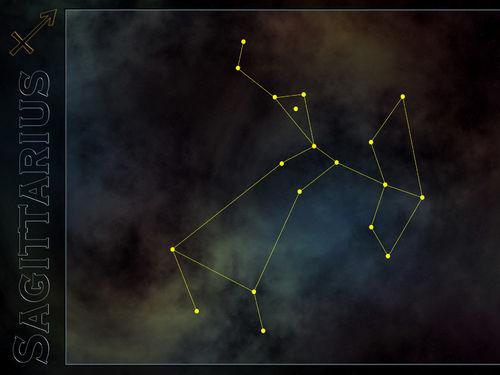 Normal 43 Sagittarius constellation wallpaper 500x375