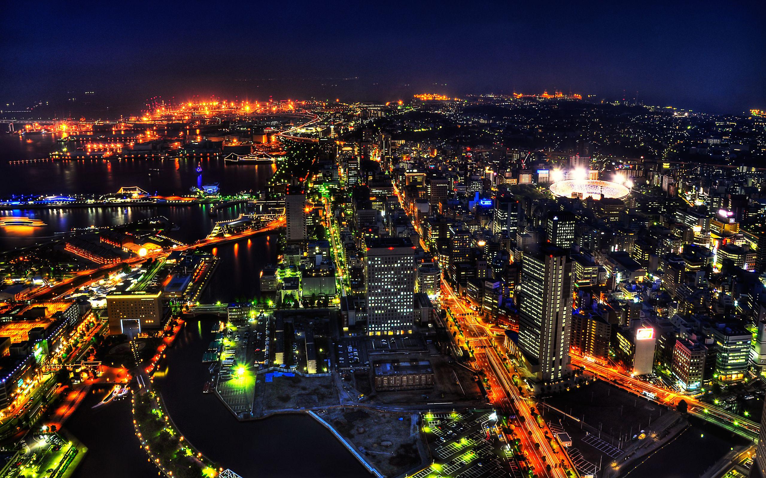 japan Shibuya Tokyo Japan Night City Desktop Wallpapers and 2560x1600