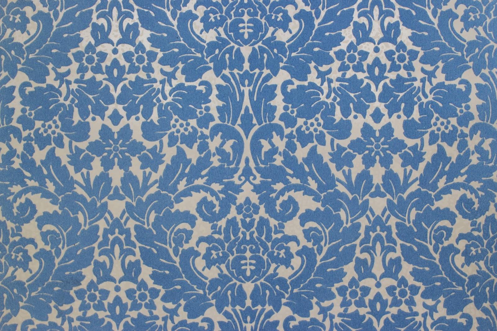Rosies Vintage Wallpaper Vintage Flocked Wallpaper 1600x1067