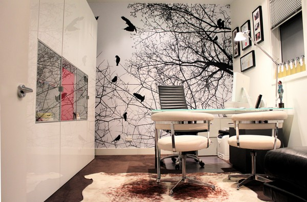 Office Feature Wall Grafico Custom Wall Coverings 600x396