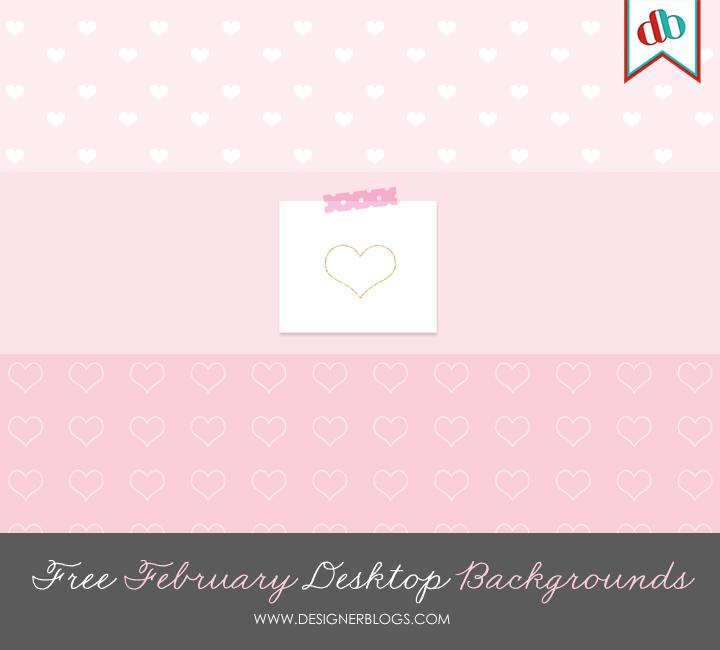 February Desktop Backgrounds 720x650