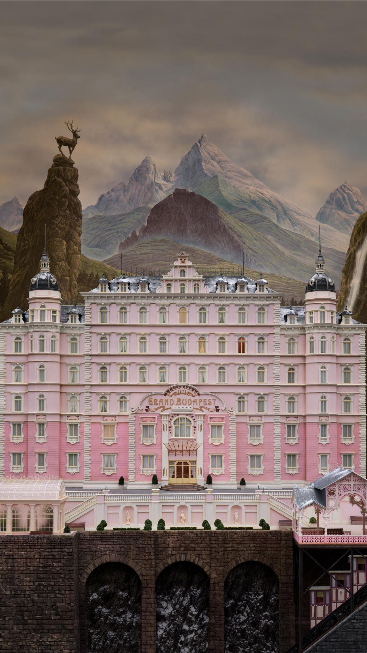 Toy Story 4 2019 Phone Wallpaper in 2020 Grand budapest hotel 1276x2270