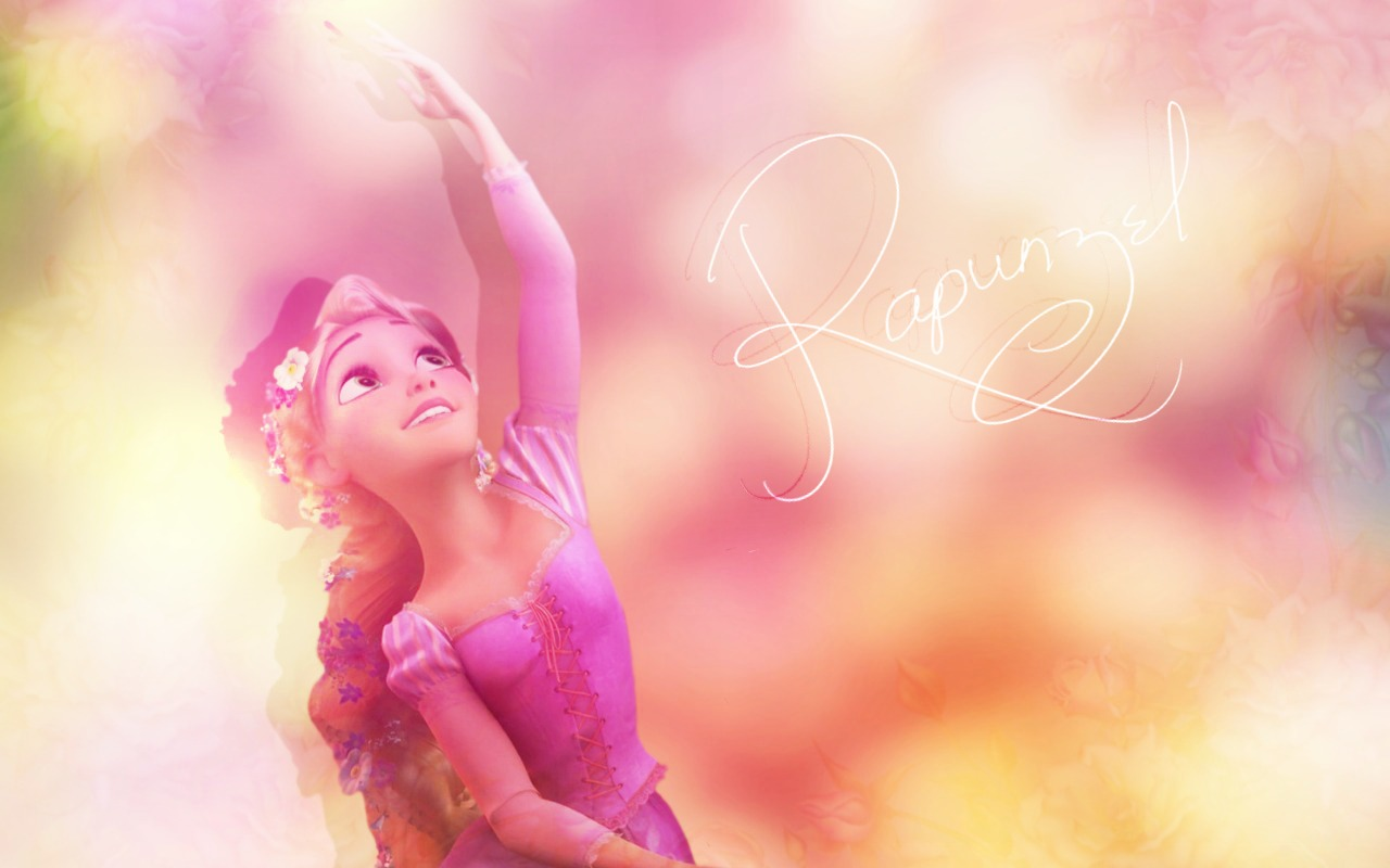 Rapunzel wallpaper disney princess 1280 800 1280x800