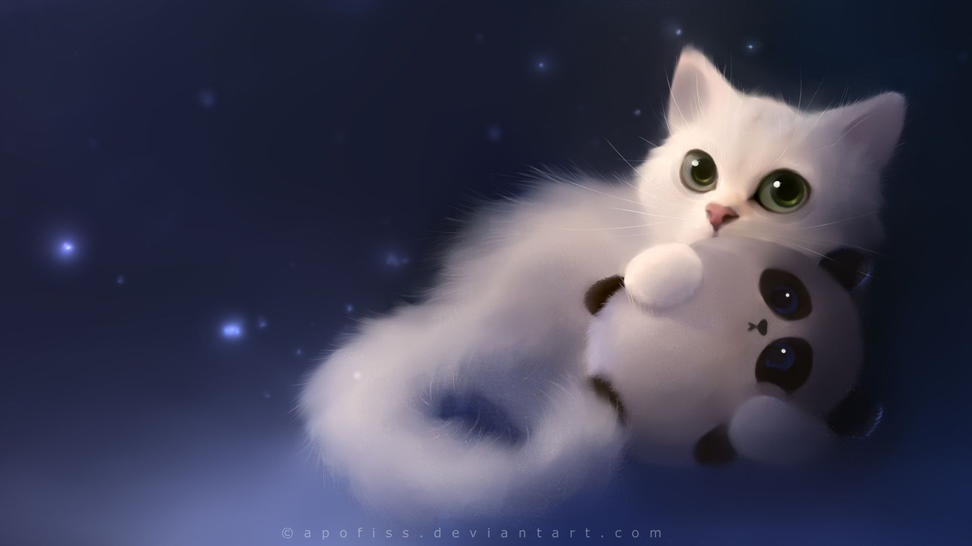 Cute Anime Cat Wallpapers   Top Cute Anime Cat Backgrounds 1920x1080