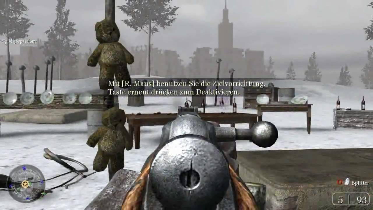 Call of Duty 2 Gameplay HD 1280x720