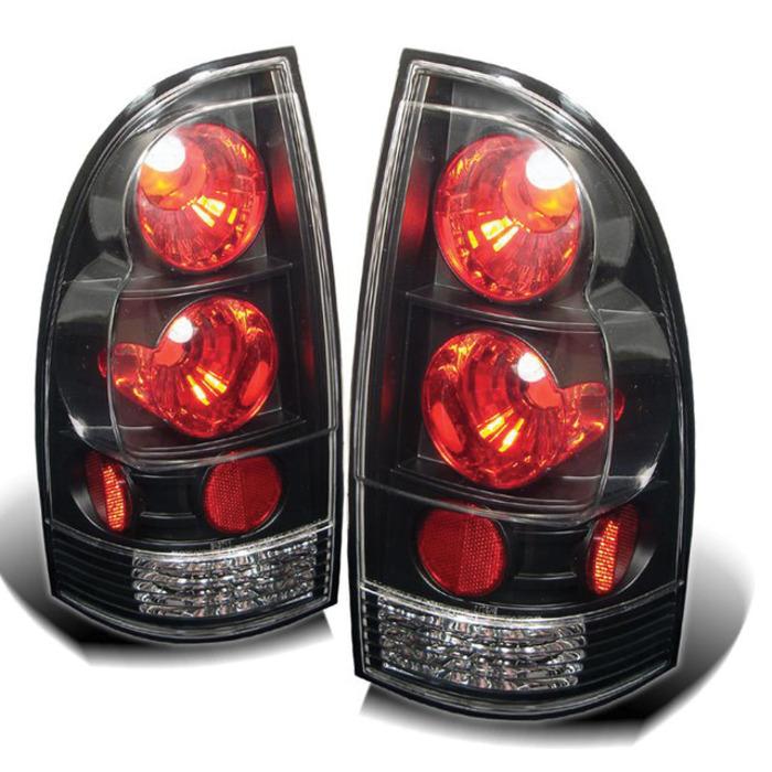 Spyder Auto Toyota Tacoma 05 12 Euro Style Tail Lights   Black 700x700