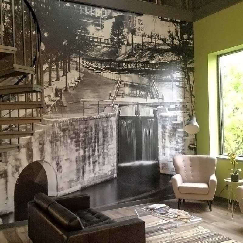 Permanent Custom Wallpaper Custom Wall Murals MegaPrint 800x800