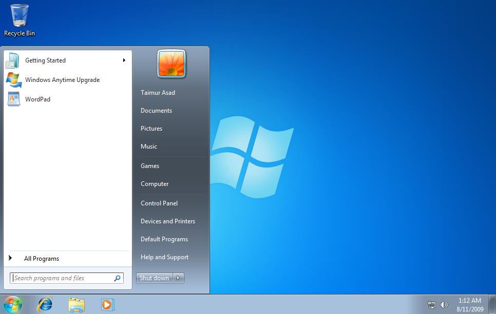 Wallpaper from Windows 7 Starter Redmond Pie 966x613