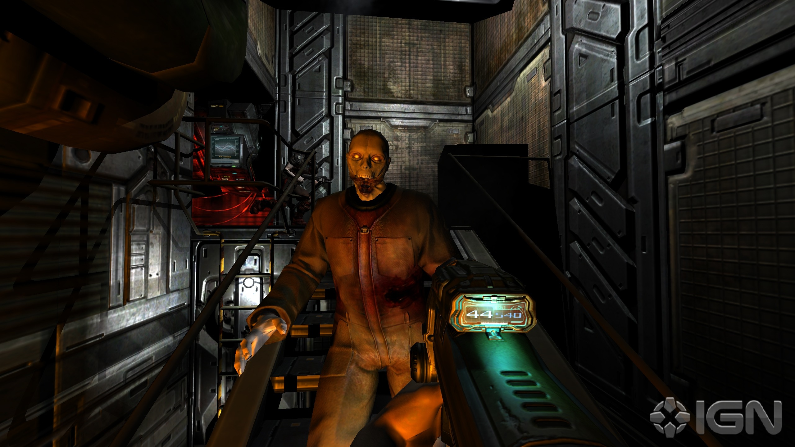 Doom 3 BFG Edition Screenshots Pictures Wallpapers   PC   IGN 2560x1440