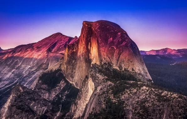 Wallpaper yosemite national park california mountains landscape 596x380