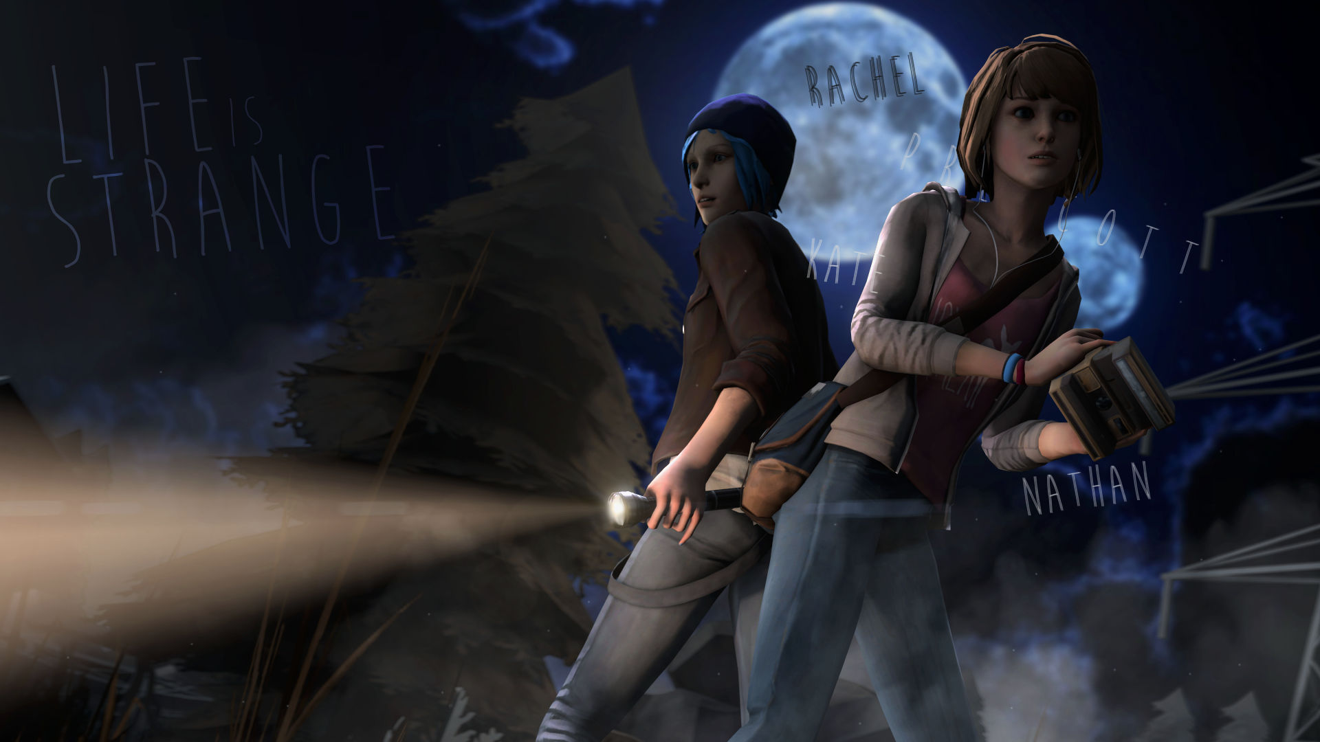 Free Download Life Is Spooky Life Is Strange Wallpaper By