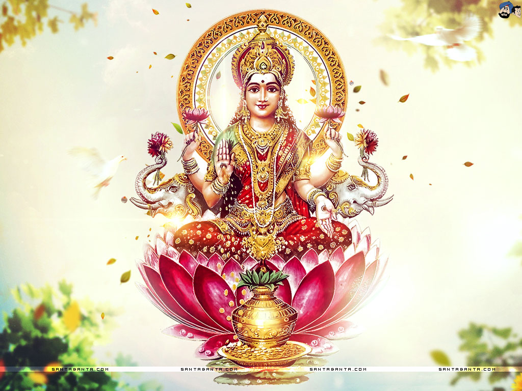 Goddess Laxmi Wallpaper 12 1024x768