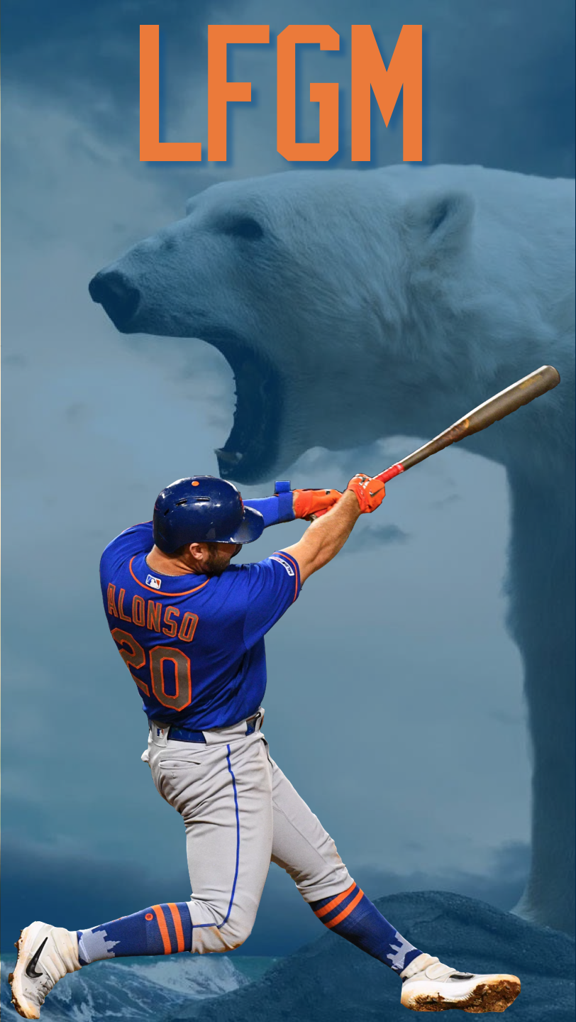People were asking for some Mets themed wallpaper This is my 812x1440
