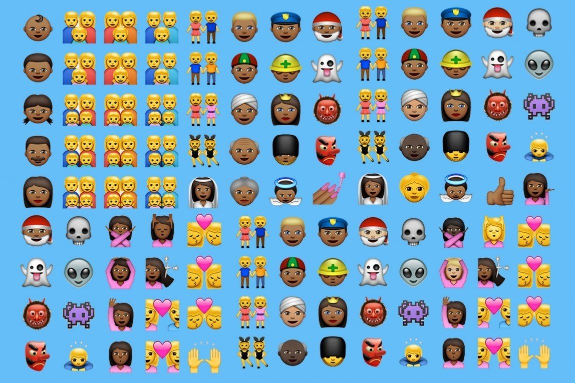 New emoji wallpaper