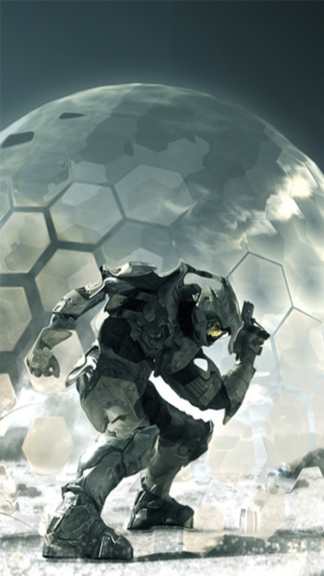 Halo 3 iphone wallpaper wallpapersafari - Halo 5 screensaver ...