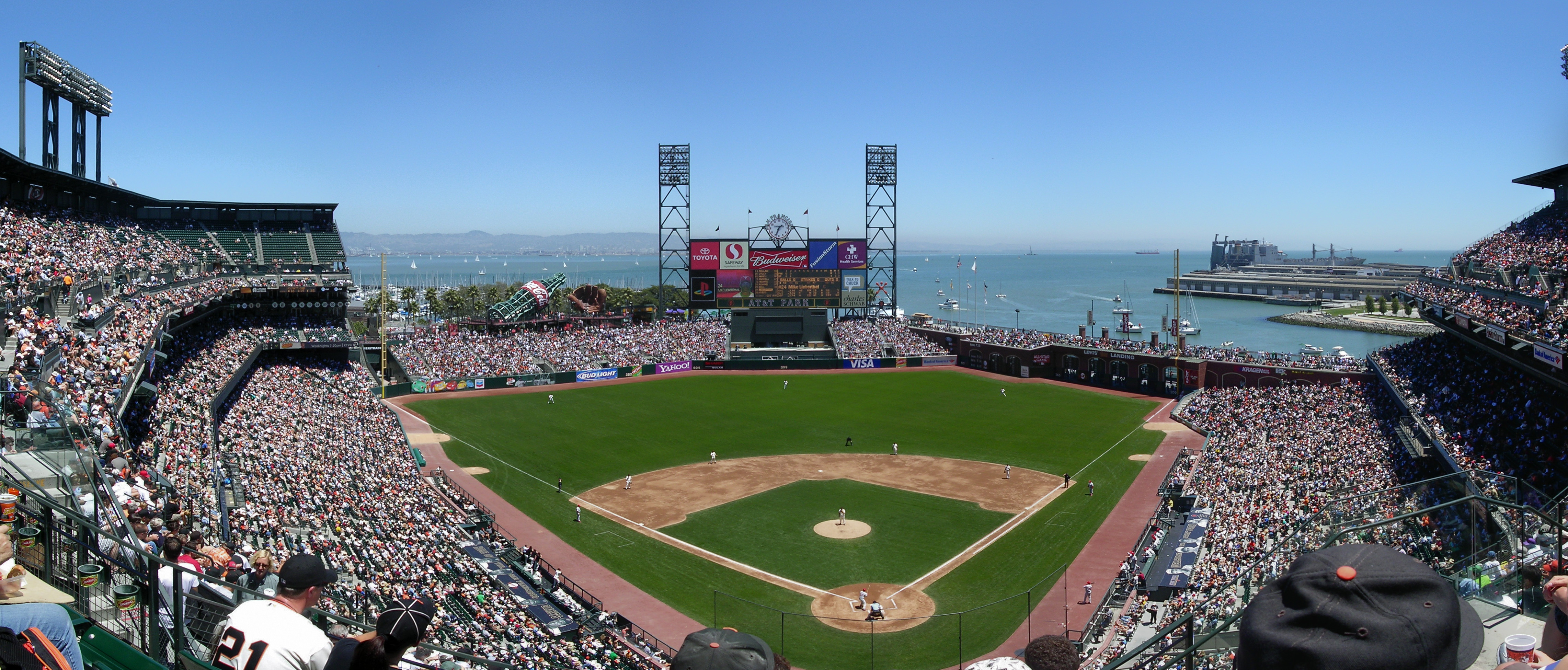 Giants Baseball Stadium Wallpapers HD Desktop and Mobile Backgrounds 4567x1952