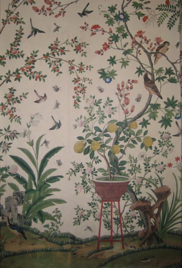 Hand Painted Chinoiserie Mural Jess Arthur Mural Artist 600x883