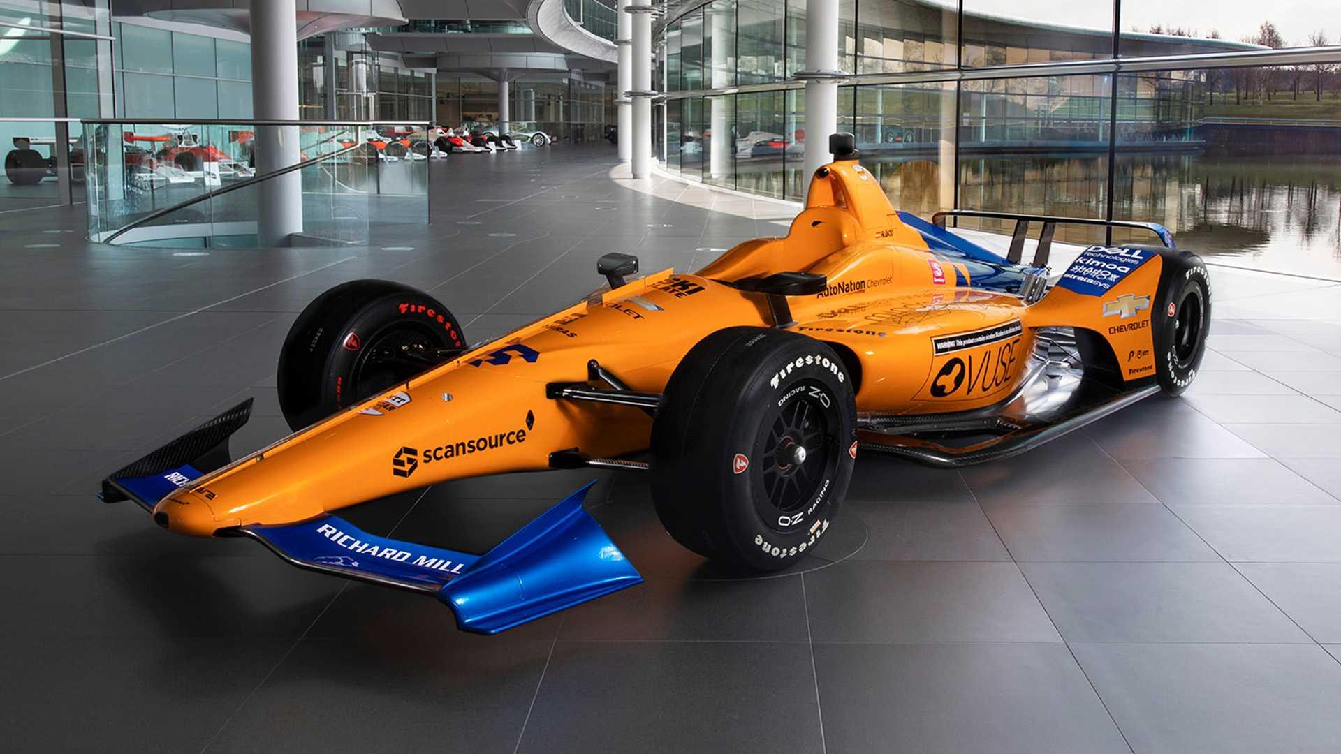 McLaren reveals Alonsos Indy 500 car 1920x1080