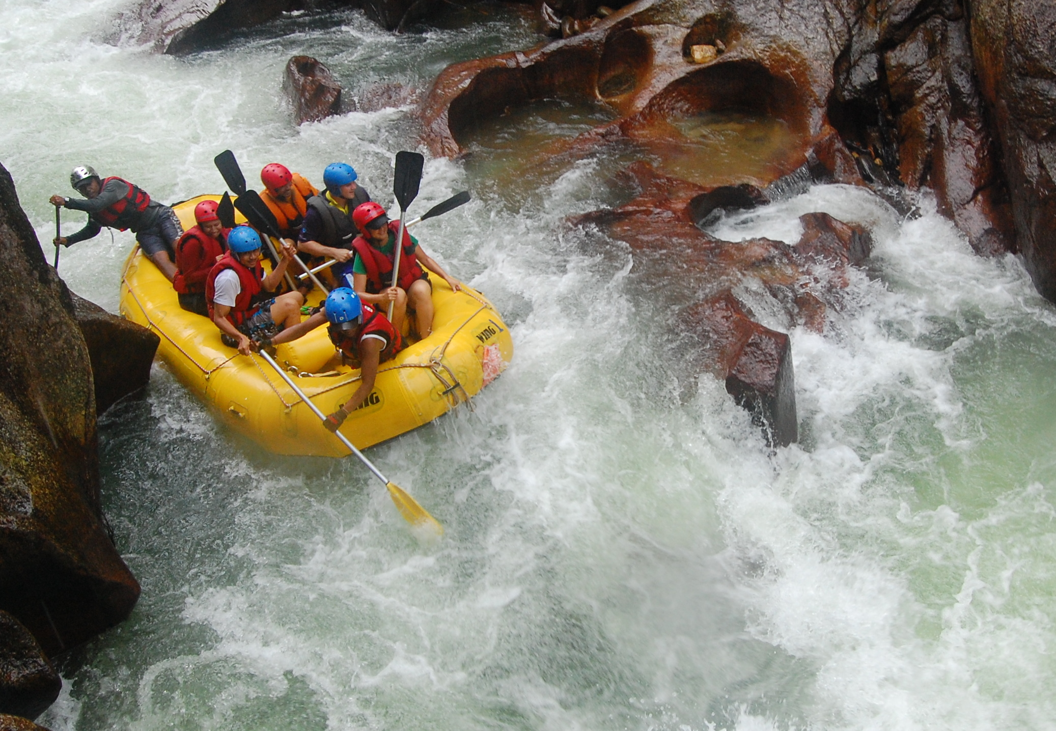 7 White Water Rafting HD Wallpapers Background Images 2074x1436