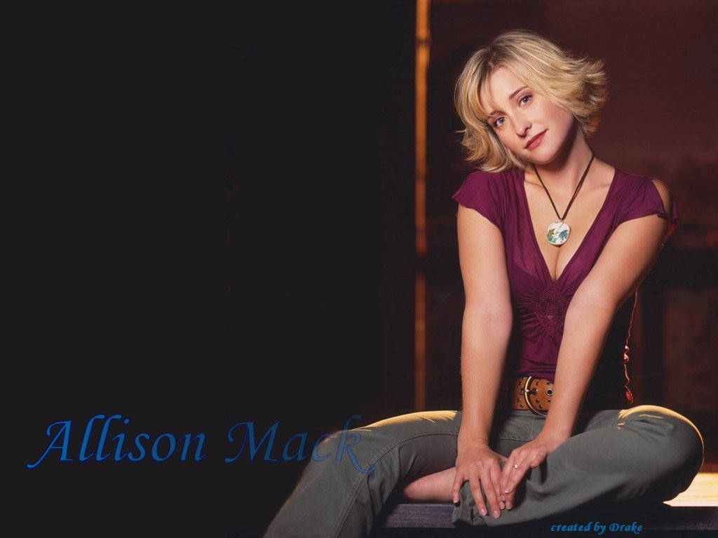 Images Wallbase Hot Allison Mack   Photo Colection 1024x768