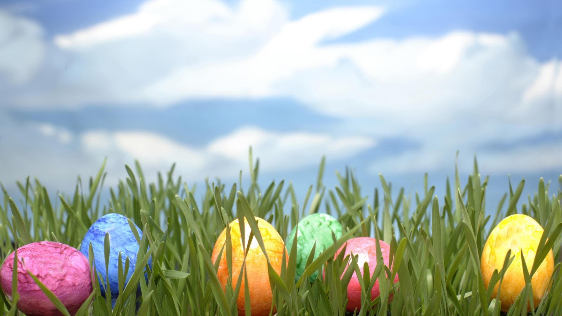 Spring Easter Wallpaper 1920x1080 Spring Easter Eggs 1920x1080