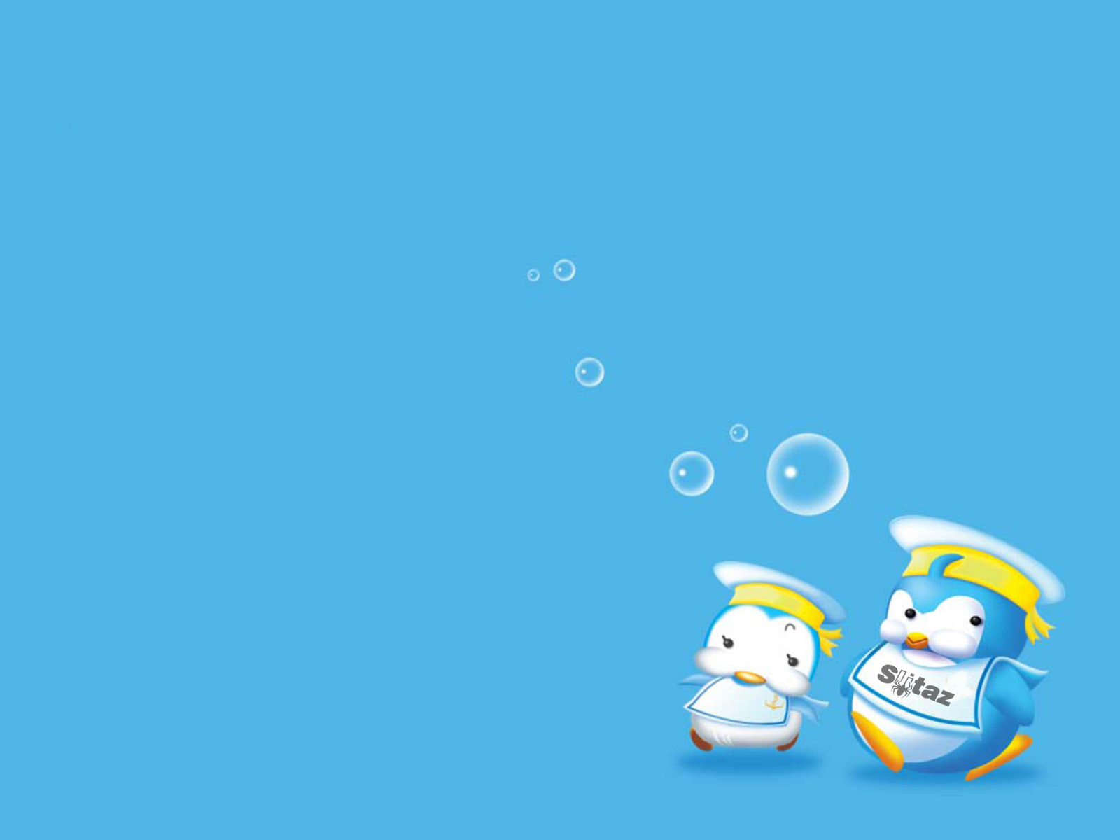 Cute Cartoon Penguin Desktop Wallpaper 9264   Ongur 1600x1200