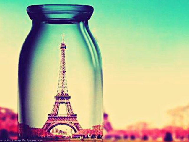 download wallpaper pink paris