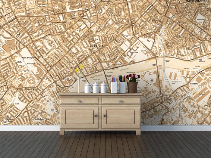 Map Wallpaper   Design Ideas 700x525