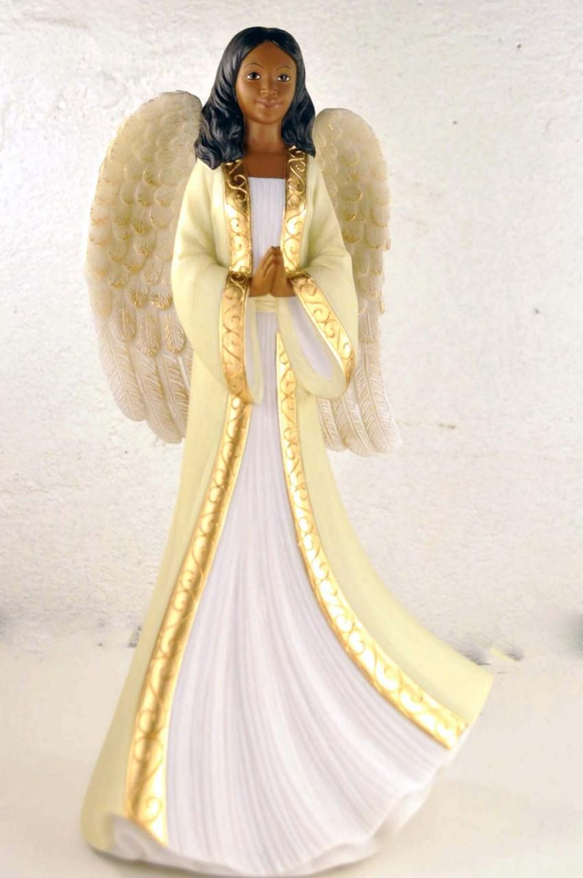 Cute African American Angel Drawing | k11158362 | Fotosearch