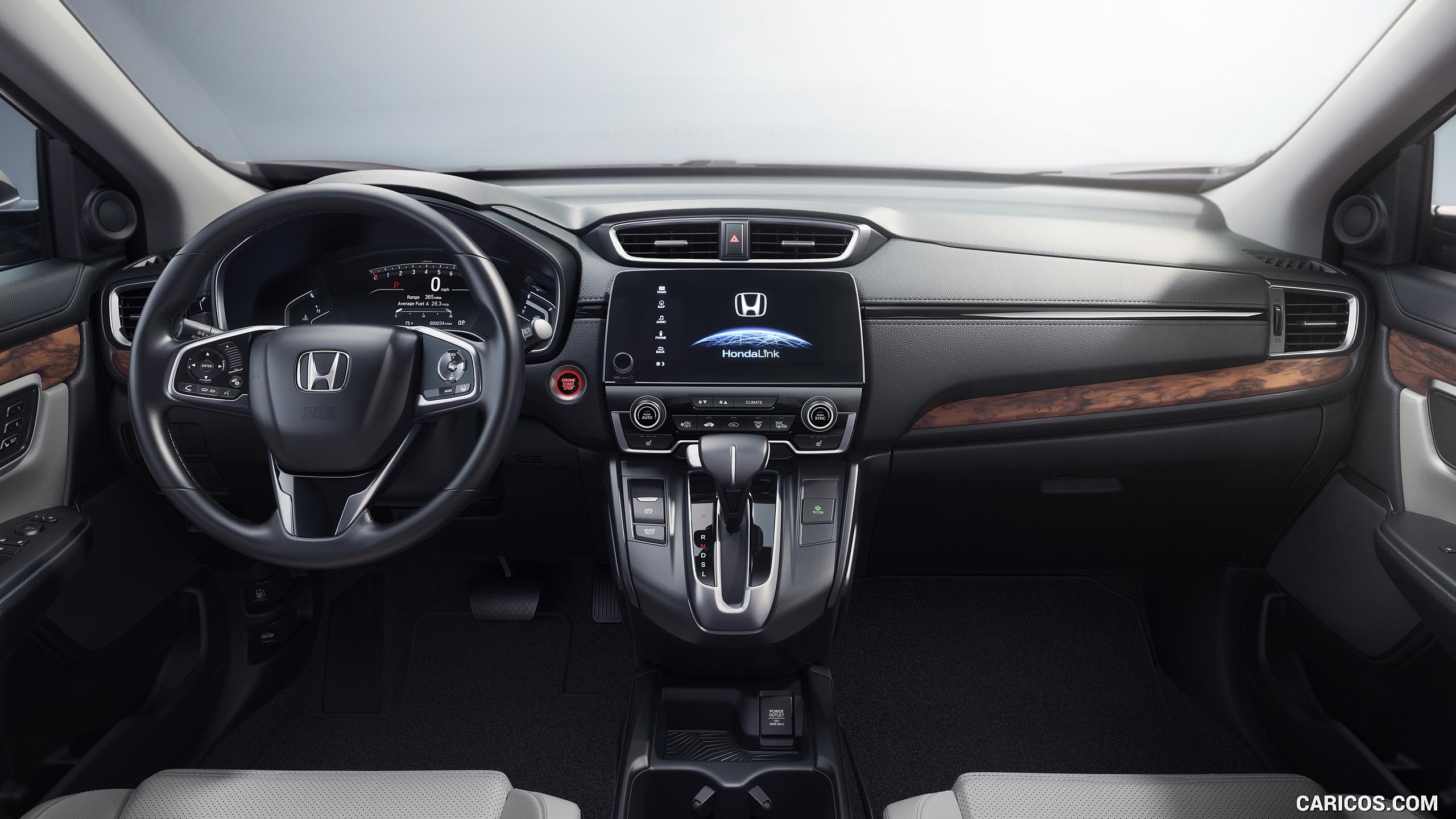 2017 Honda CR V   Interior Cockpit HD Wallpaper 4 2560x1440