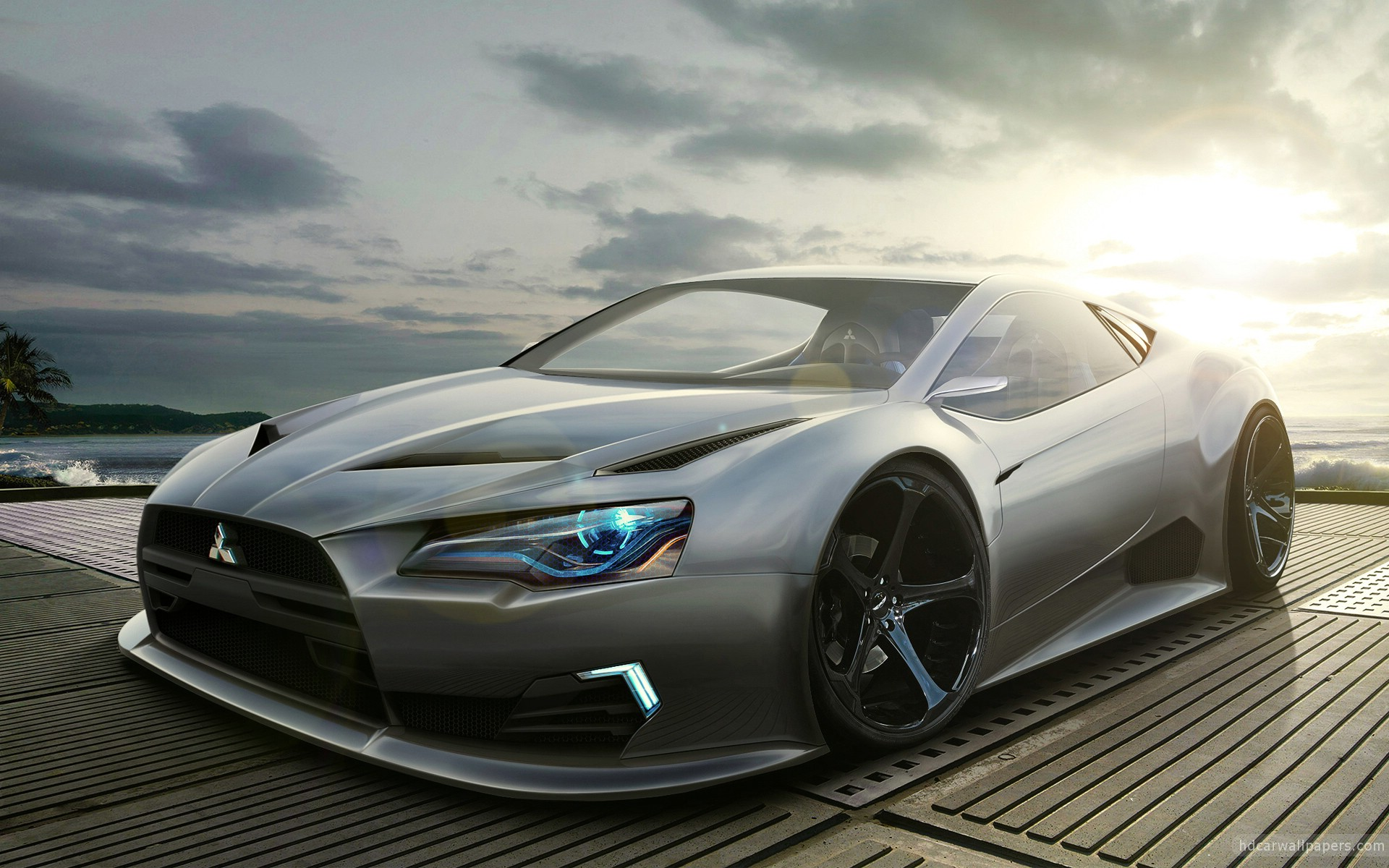 Mitsubishi Concept Wallpaper HD Car Wallpapers 1920x1200