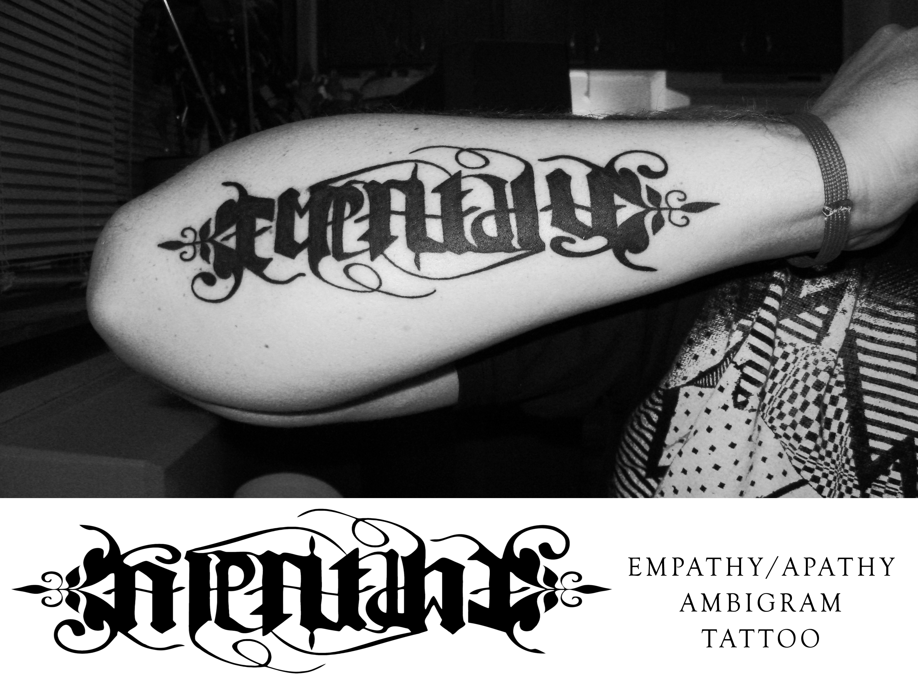Ambigram Tattoos 108 images in Collection Page 2 3072x2304
