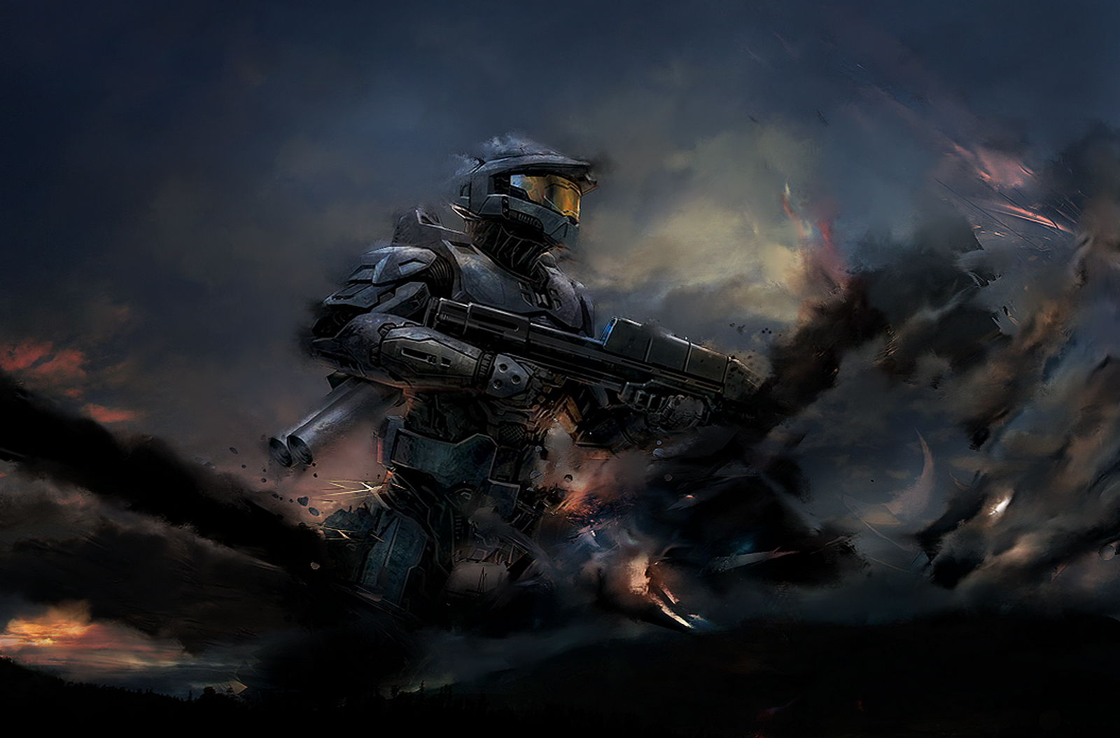HALO WALLPAPERS 1600x1054