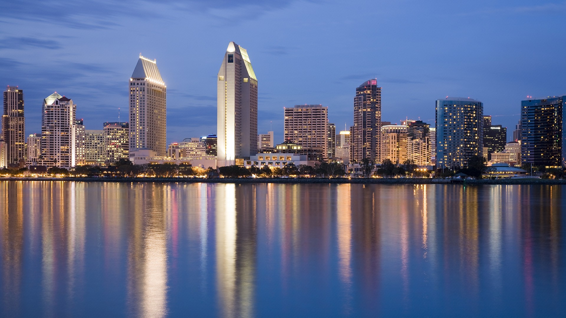 cityscapes California San Diego wallpaper background 1920x1080