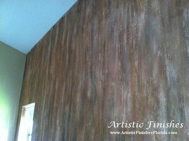 Wallpaper Remove and Venetian Plaster in Coral Springs Florida 642x480