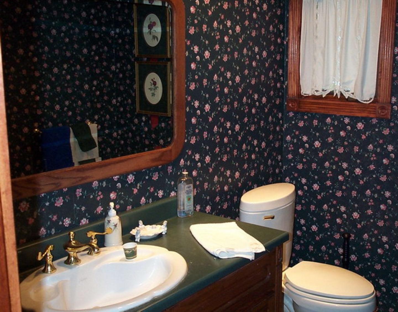 bathroom wallpaper beautiful decor decorating decorating ideas houses 1440x1128