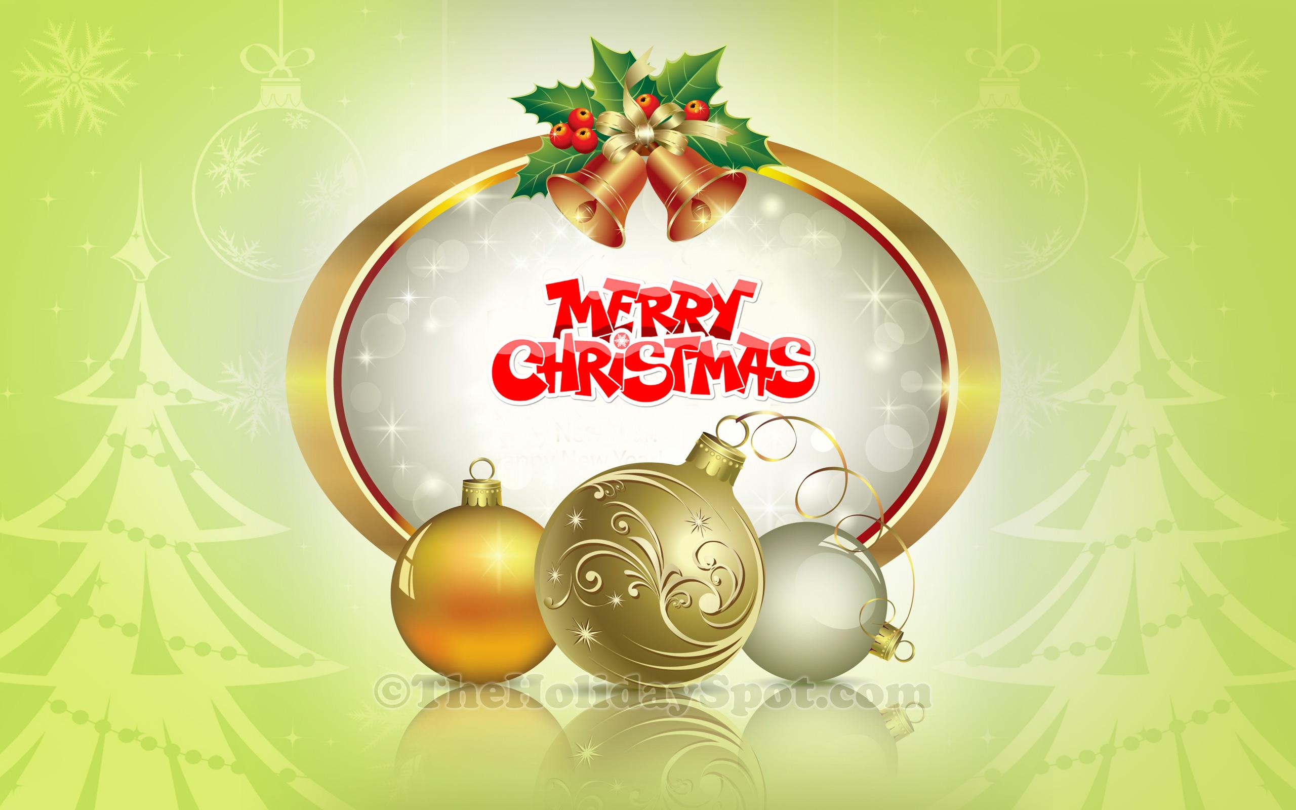 36 HD Christmas Wallpapers 2560x1600