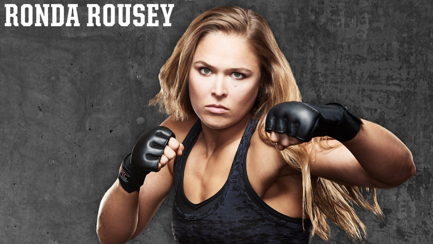 Photo Ronda Rousey Ufc Sport Wallpaper Hd For Desktop Wallpaper 1440x810